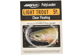 (2.4m Hover) - Airflo Fly Lines Polyleader Light Trout