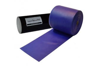 (g. Blue MEDIUM -- 8 Yards) - Super Exercise Band USA Latex Free Resistance Bands in 8 and 16 Yard Bulk Rolls. 10 Elastic Strengths in Light, Medium or Heavy for Training, Physical Therapy, Yoga, Pilates, Rehab, Chair Workouts.