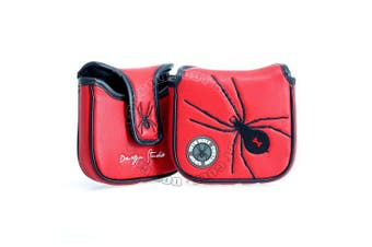 Spider High-MOI Mallet Putter Headcover, Heel Shaft, Red