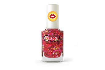 Colour Club-SMOOCH from the new NAILMOJI GLITTER Collection