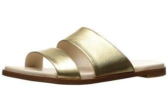 (4 UK, Gold/Metallic) - Cole Haan Women's Anica Slide Sandal