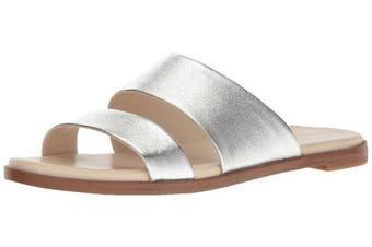 (6 UK, Silver/Metallic) - Cole Haan Women's Anica Slide Sandal