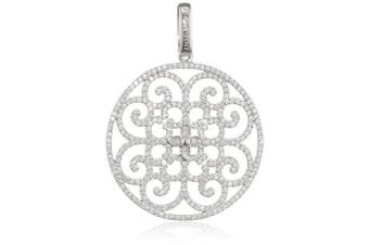 Engelsrufer ERP-ORNA-01-ZI Women's Pendant 925 Sterling Silver with Clear Cubic Zirconia