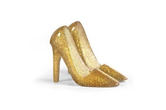 (Gold) - Fred PUMPED UP High Heel Cellphone Stand