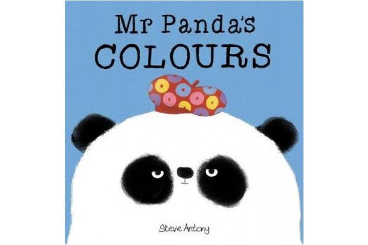 Mr Panda's Colours Board Book (Mr Panda) [Board book]