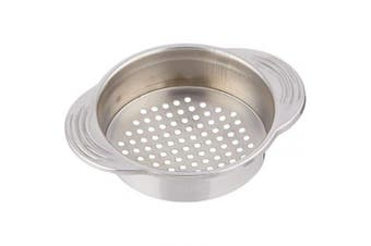 """(1, One Size) - KitchenCraft Stainless Steel Food Can Strainer / Tin Sieve, 11.5 x 9 cm (4.5"""" x 3.5"""")"""