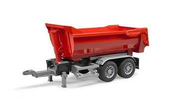 Bruder Half Pipe Trailer for Trucks Vehicle