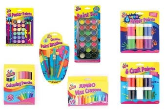 (Pencils) - Artbox 20 full size colouring pencils set in 20 assorted colours