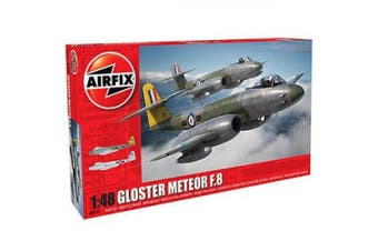 Airfix A09182 Gloster Meteor F.8 1:48 Aircraft Model Kit