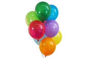 (100 Piece, Decorator Assorted Colors) - Creative Balloons 30cm Latex Balloons - Pack of 100 Pieces - Decorator Assorted Colours