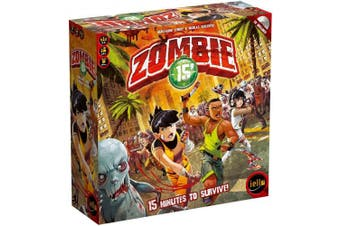 Zombie 15 Minute Board Game By Iello