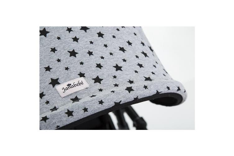 (Black Star) - Hood for Bugaboo Cameleon Bee 3 Janabebe® (Black Star)