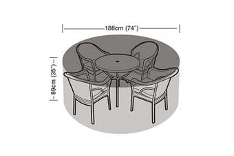 Garland 4-6 Seater Round Set Patio Cover Waterproof Garden Furniture Sheet