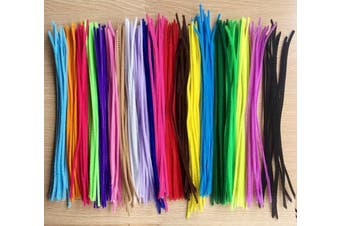 (300 Pcs) - Acerich 300 Pcs Assorted Colours Pipe Cleaners DIY Art Craft Decorations Chenille Stems (6 mm x 12 Inch)
