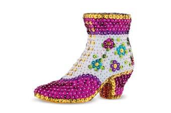 (Sparkling Arts & Crafts Picture Kit) - Sequin Art 3D Shoe Sparkling Arts & Crafts Picture Kit