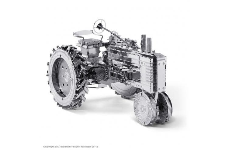 Fascinations Metal Earth Farm Tractor 3D Metal Model Kit