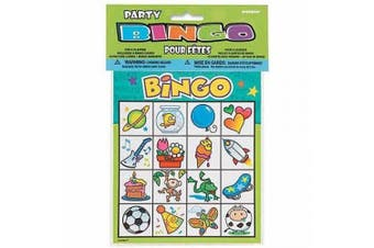 (1, CLASSIC) - Party Bingo Game - For 8 Players