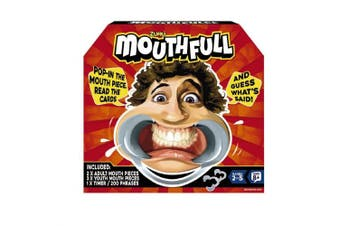 Zuru 28162 Mouthfull Family Party Game with Mouthpieces