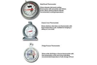 Brannan Dial Thermometer Meat Roast / Classic Oven / Fridge Freezer All Types
