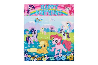 (Wall Decoration) - American Greetings My Little Pony Wall Decorations