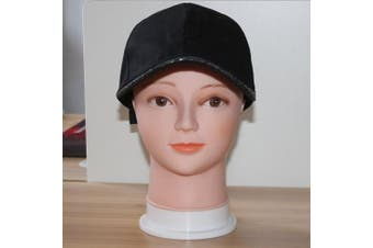 (gt1) - HAIREALM Wig Making Head Bald Mannequin Head Wig Making Display Hat Display Glasses Display Head GT01P