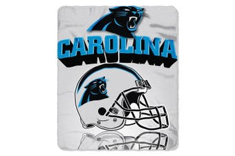 (Carolina Panthers) - The Northwest Company NFL Gridiron Fleece Throw, 130cm x 150cm