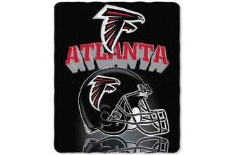 (Atlanta Falcons) - The Northwest Company NFL Gridiron Fleece Throw, 130cm x 150cm