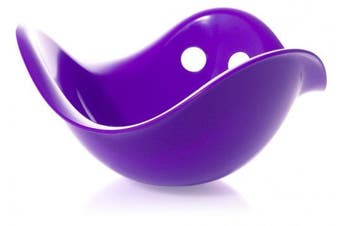 (Violett) - Moluk Bilibo Rocking and Spinning Toy Purple