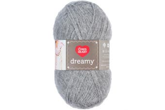 (Grey) - Coats & Clark E861.8341 Red Heart Dreamy Grey, Lavender
