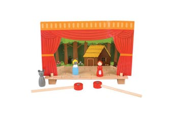 Bigjigs Toys Magnetic Theatre