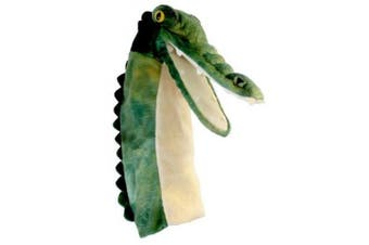 The Puppet Company - Long Sleeves - Crocodile Hand Puppet