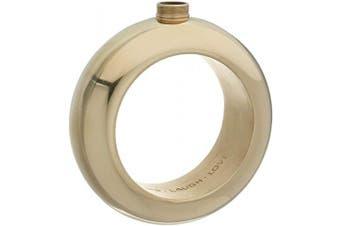 (Gold) - Blush 5797 Bracelet Flask, 120ml, Gold
