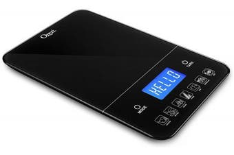 Ozeri Touch Iii 22 Lbs 10 Kg Digital Kitchen Scale With Calorie Counter, In