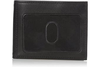 (One size, Black) - Buxton mens79817Mountaineer Credit Card Billfold Wallet