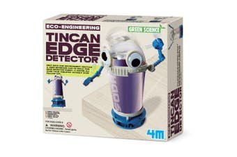 4m Green Science - Tin Can Edge Detector Robot