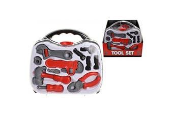 Kids Children Tool Kit Set Kit Work Case Box Carry Case Role Play Activity Set