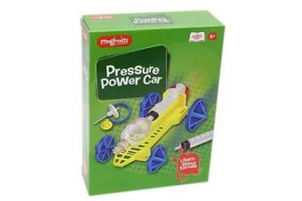 Magnoidz Air Pressure Power Car Science Kit Educational Toy For Children