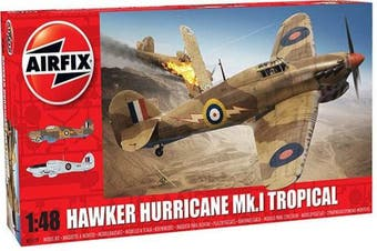 Airfix A05129 Hawker Hurricane Mk.1 Tropical 1:48 Aircraft Model Kit