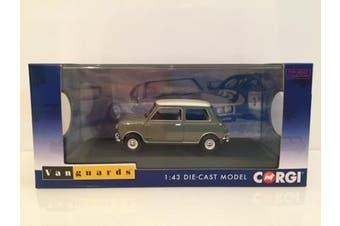 Corgi Vanguards Morris Mini Cooper Mk1, Tweed Grey And Old English White