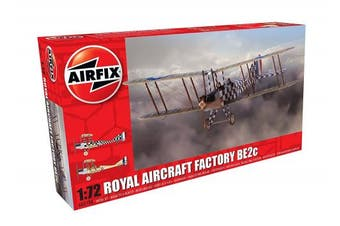 Airfix A02104 Royal Aircraft Factory Be2c Scout 1:72 Aircraft Model Kit