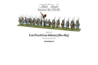 Black Powder - Late French Line Infantry (1812-1815) (28mm scale) (28) (Warlord Games)