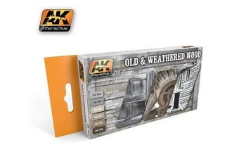 Ak00563 - Ak Interactive Set Old And Weathered Wood Vol.2