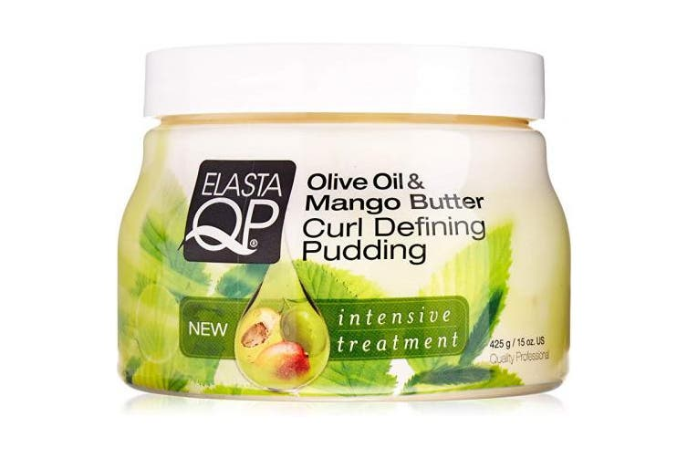 (Pack of 1) - Elasta QP Olive Oil & Mango Butter Curl Defining Pudding 237ml