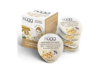 Nugg Beauty Anti Ageing Mask - Vitamin B3 & White Tea Extract - 10ml each - 5 ct (50ml total)