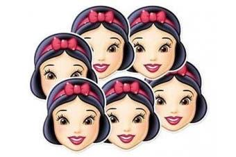 Disney Princess Party - Snow White Face Masks X 6