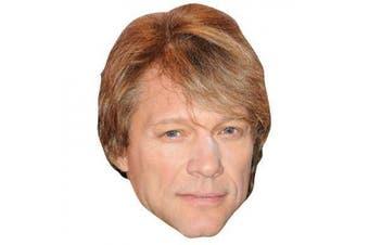 Jon Bon Jovi Celebrity Mask, Card Face And Fancy Dress Mask