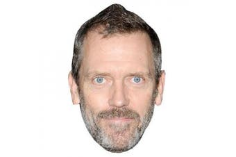 Hugh Laurie Celebrity Mask, Card Face And Fancy Dress Mask