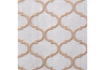 Duck Brand Embossed Solid Grip Easy Liner Shelf Liner, Taupe Quatrefoil, 30cm x 2.1m