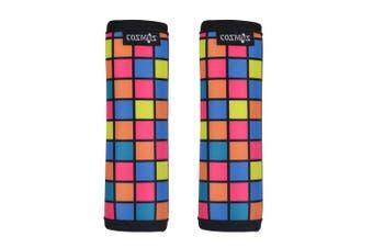 (Puzzle) - Cosmos Comfort Neoprene Handle Wraps/Grip/Identifier for Travel Bag Luggage Suitcase (Puzzle)