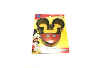 (Crust Cutter) - 1 X Mickey Mouse Clubhouse Disney Sandwich Decruster Cutter School Lunch Easy Fun by Disney Princess